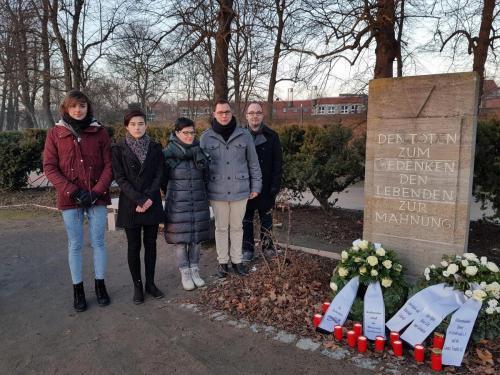 Gedenken NS Opfer HGW
